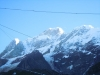 Snow Capped Himalayas, viewed from Kedarnath .